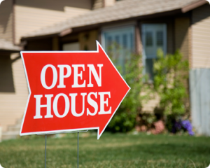 Using Open Houses to Learn about the market