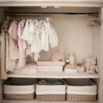 A very tidy nursery closet
