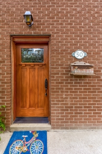 Front door - Historic Homes in Guelph