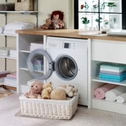 How to Stage Your Laundry Room